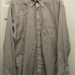 Burberry London Graph Checked Button Down Shirt